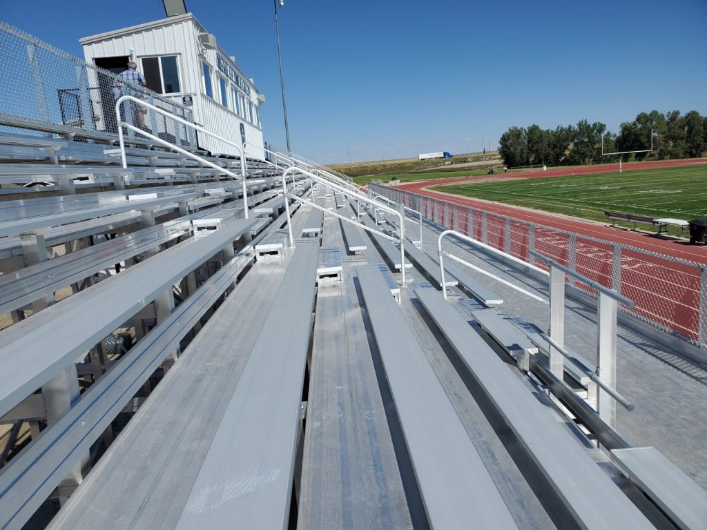 Limon High School Football Field Bleachers